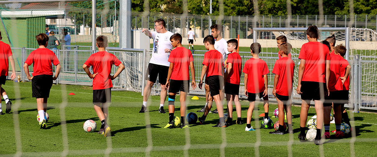 90 Youngsters beim 2. Parndorf-Camp